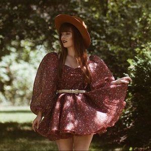 Selkie Princess Crimson Dress